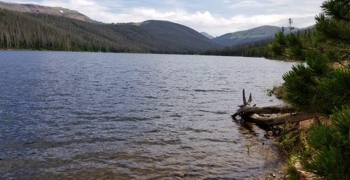 Joe Wright Reservoir in Colorado