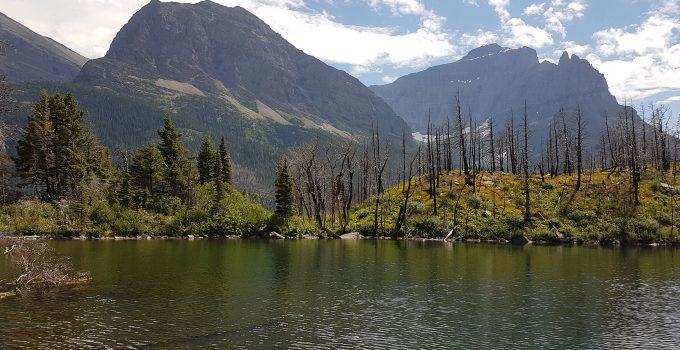 Lost Lake in Glacier National Park