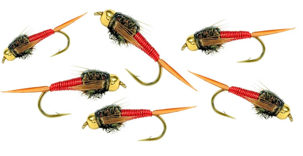 BH red copper john flies